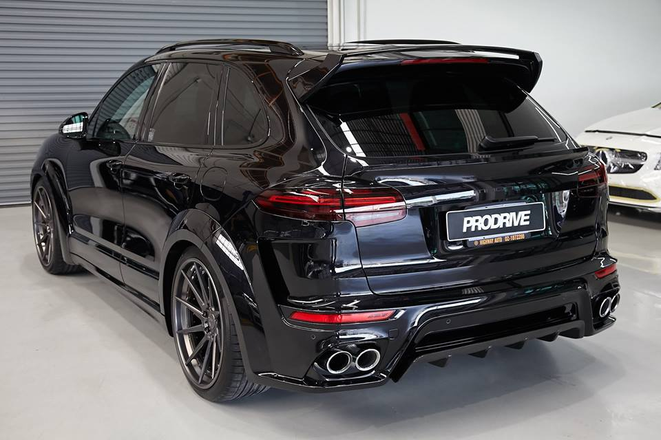 techart magnum widebody porsche cayenne by prodrive. Black Bedroom Furniture Sets. Home Design Ideas