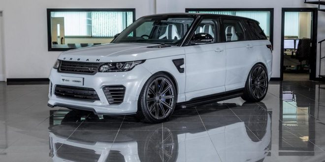 Video & Foto: Urban Automotive Range Rover auf Vossen Alu's