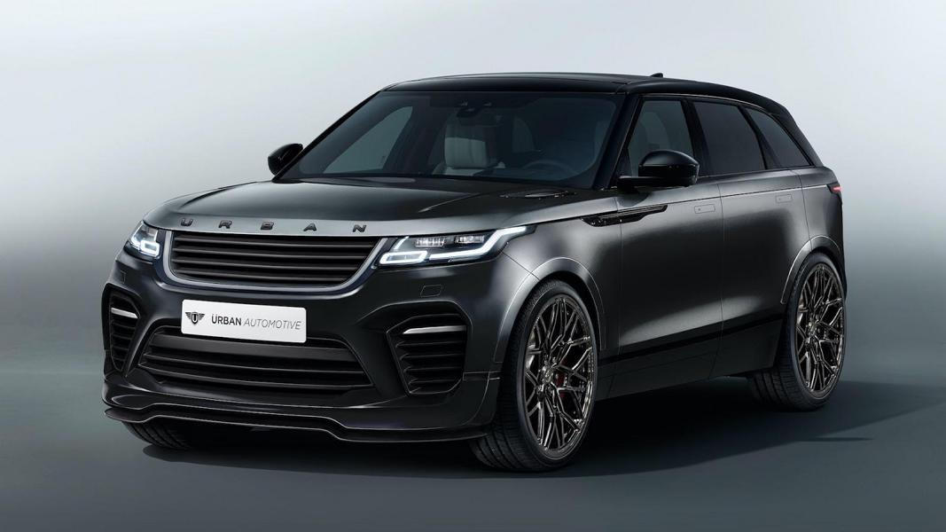 Preview Urban Automotive Range Rover Velar At The Svr