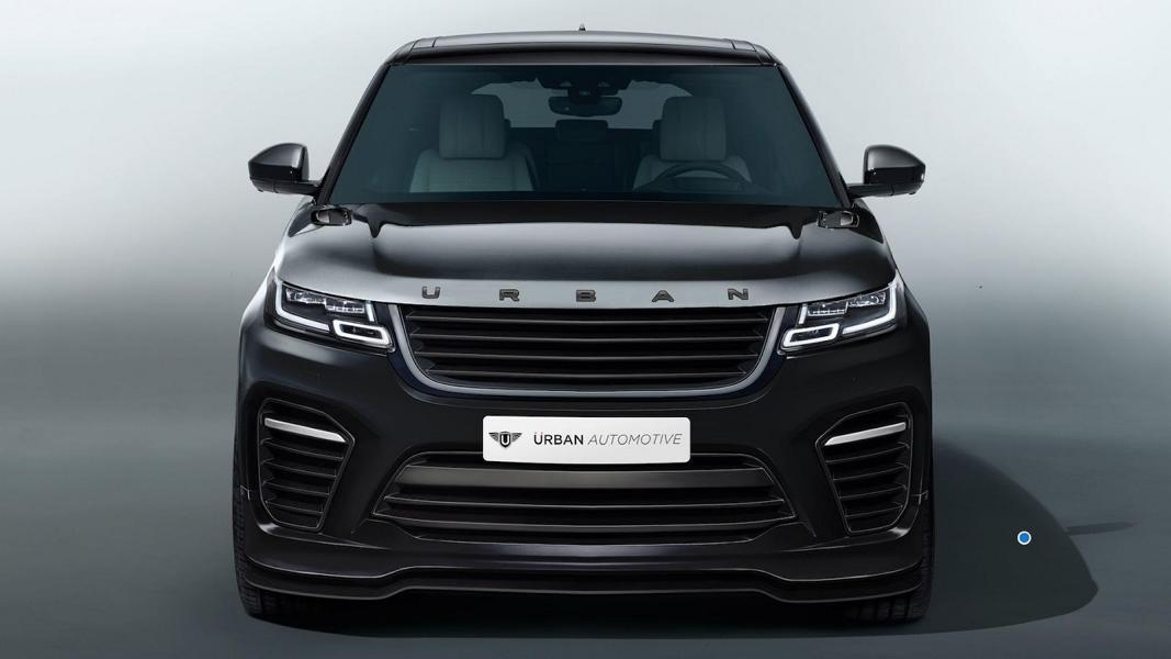 Vorschau Urban Automotive Range Rover Velar Im Svr Look