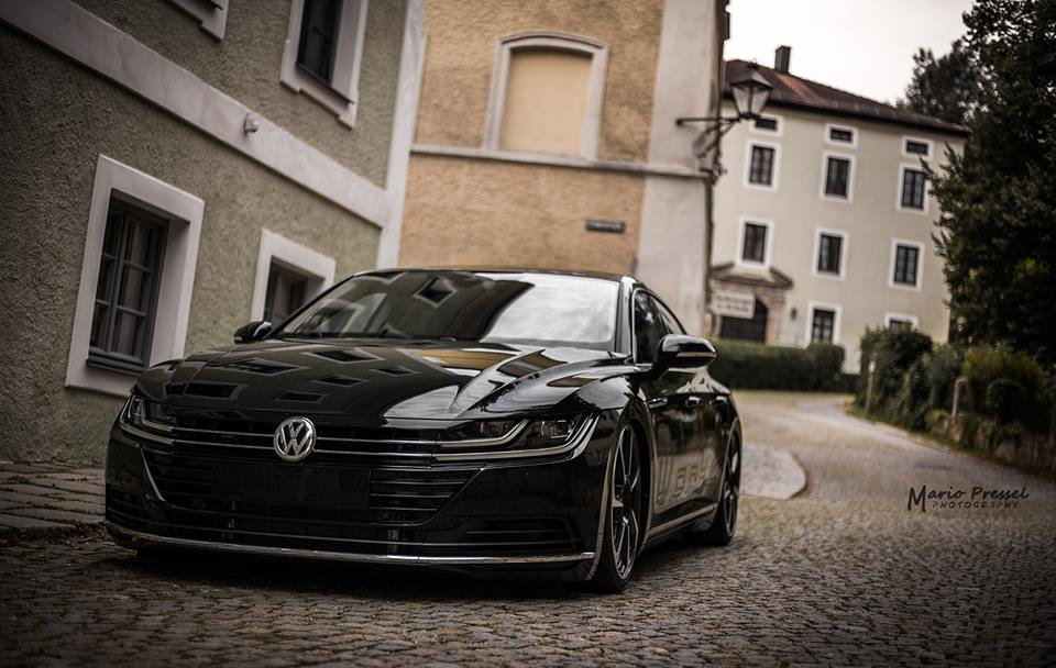 Werk 2 Automotive VW Arteon Airride Tuning 1 Top   Werk 2 Automotive GmbH zeigt seinen VW Arteon