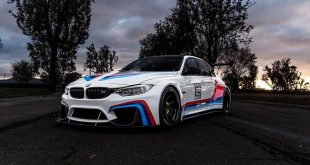 Widebody BMW F80 M3 Racecar Tuning 6 310x165 Total IRRE   Widebody BMW M3 F80 mit 645PS am Rad