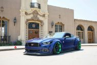 Widebody Ford Mustang Project 6GR Tuning 1 190x127 Verrückt   Widebody Ford Mustang auf Project 6GR Alu's