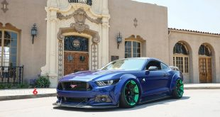 Widebody Ford Mustang Project 6GR Tuning 1 310x165 Verrückt   Widebody Ford Mustang auf Project 6GR Alu's