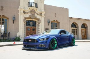 Widebody Ford Mustang Project 6GR Tuning 1 310x205 Verrückt   Widebody Ford Mustang auf Project 6GR Alu's