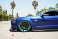 Widebody Ford Mustang Project 6GR Tuning 4 190x127 Verrückt   Widebody Ford Mustang auf Project 6GR Alu's