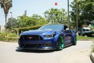 Widebody Ford Mustang Project 6GR Tuning 5 190x127 Verrückt   Widebody Ford Mustang auf Project 6GR Alu's