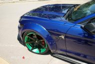 Widebody Ford Mustang Project 6GR Tuning 7 190x127 Verrückt Widebody Ford Mustang auf Project 6GR Alu's