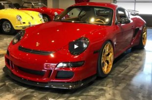 Widebody Porsche Cayman 911 991 310x205 Video: Widebody Porsche Cayman als 911 (991) Killer