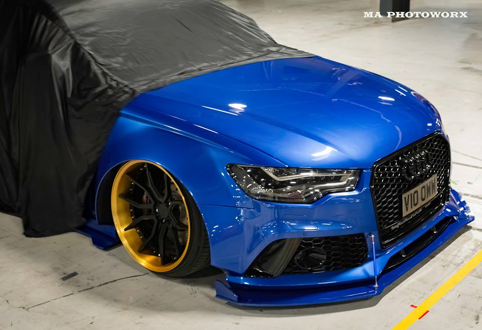 Xenonz Audi A6 C7 Widebody Tuning 1 Mega extrem   Widebody Audi A6 Limo by Xenonz Uk Ltd