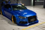 Xenonz Audi A6 C7 Widebody Tuning 13 155x103 Mega extrem   Widebody Audi A6 Limo by Xenonz Uk Ltd