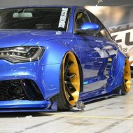 Xenonz Audi A6 C7 Widebody Tuning 6 1 190x190 Mega extrem   Widebody Audi A6 Limo by Xenonz Uk Ltd