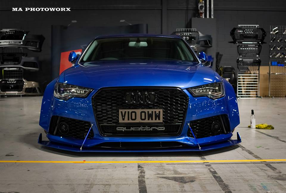 Xenonz Audi A6 C7 Widebody Tuning 7 Mega extrem   Widebody Audi A6 Limo by Xenonz Uk Ltd