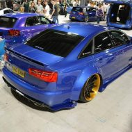 Xenonz Audi A6 C7 Widebody Tuning 9 1 190x190 Mega extrem   Widebody Audi A6 Limo by Xenonz Uk Ltd