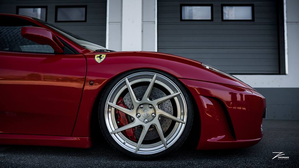 Z Performance Wheels ZP.FORGED 3 Ferrari F430 Tuning 5 Z Performance Wheels ZP.FORGED 3 Alu's am Ferrari F430