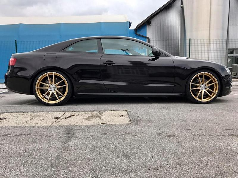 Audi A5 S5 Sparkling Folierung Tuning 14 Sehr dezent   Audi A5 S5 Coupe in Sparkling X by BB Folien