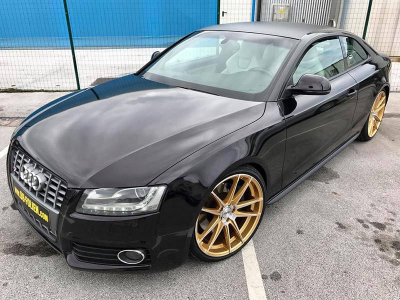 Audi A5 S5 Sparkling Folierung Tuning 8 Sehr dezent   Audi A5 S5 Coupe in Sparkling X by BB Folien