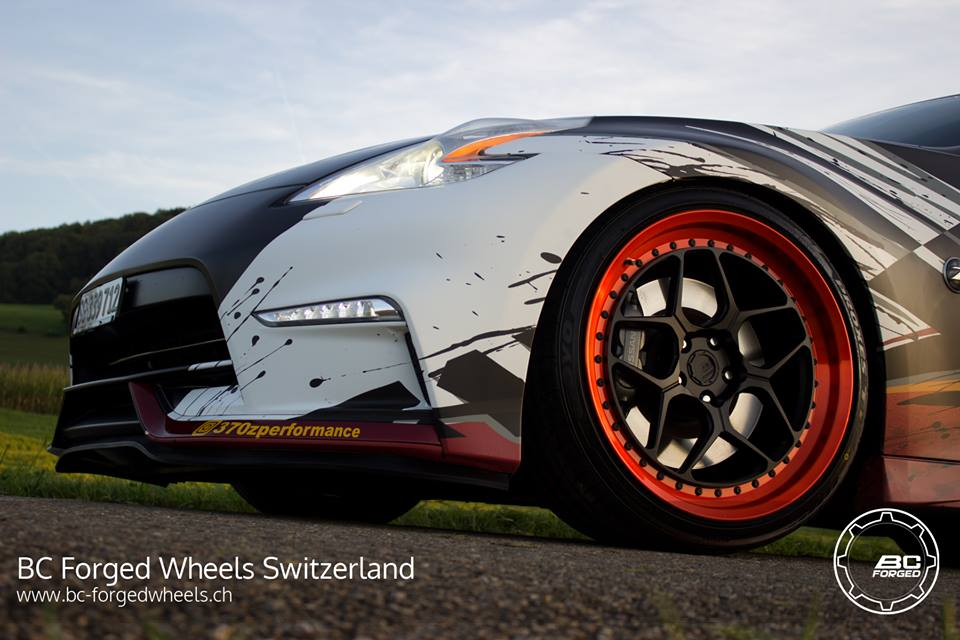 BC Forged Wheels LE53 Nissan 370Z Nismo Tuning 1 BC Forged Wheels LE53 am extremen Nissan 370Z Nismo