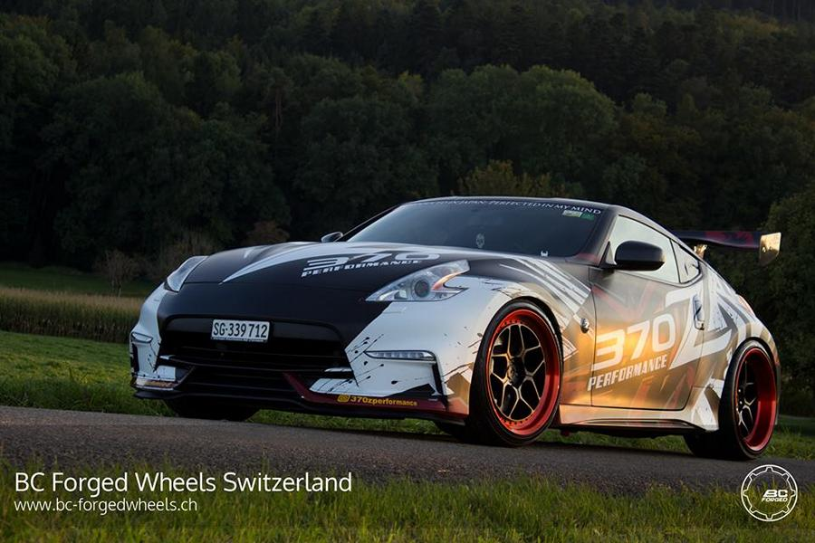 bc forged wheels le53 at the extreme nissan 370z nismo. Black Bedroom Furniture Sets. Home Design Ideas
