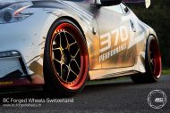 BC Forged Wheels LE53 Nissan 370Z Nismo Tuning 3 190x127 BC Forged Wheels LE53 am extremen Nissan 370Z Nismo