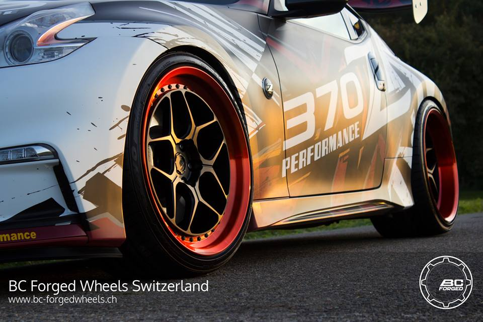 BC Forged Wheels LE53 Nissan 370Z Nismo Tuning 3 BC Forged Wheels LE53 am extremen Nissan 370Z Nismo