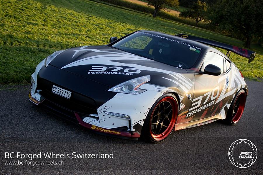 bc forged wheels le53 am extremen nissan 370z nismo. Black Bedroom Furniture Sets. Home Design Ideas