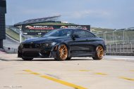 BMW M4 F82 Avant Garde M621 Tuning Copper 5 190x127 Avant Garde Wheels M621 Felgen am Facelift BMW M4 Coupe