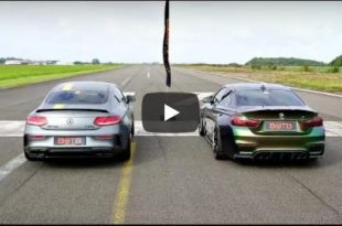 BMW M4 F82 vs. 620PS Mercedes C63s AMG 310x205 Video: 550PS BMW M4 F82 vs. 620PS Mercedes C63s AMG