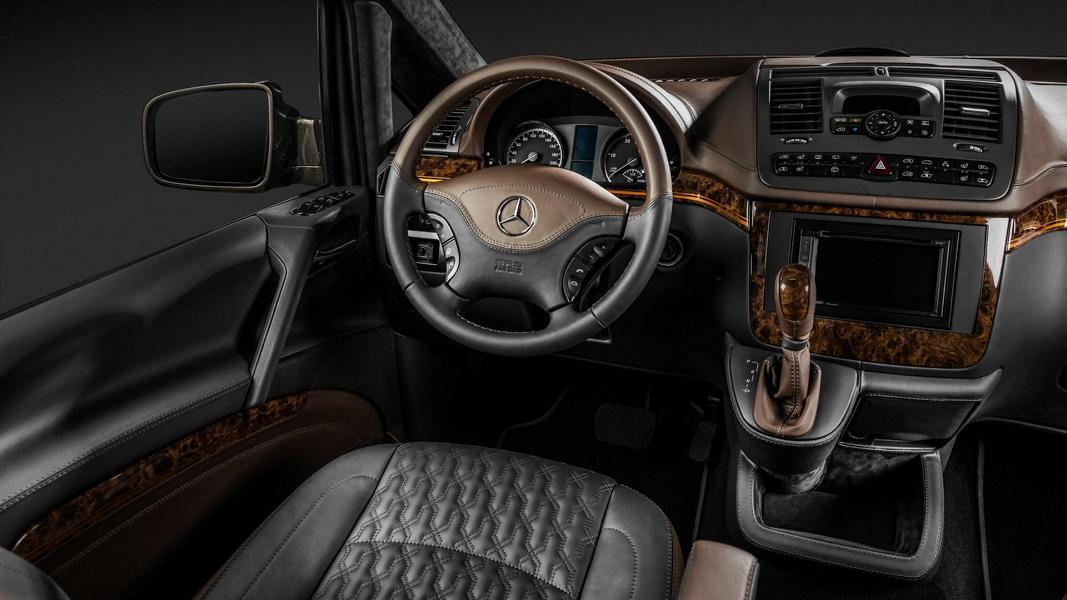 Luxury Truck - Carlex Design interior in the Mercedes Viano ...
