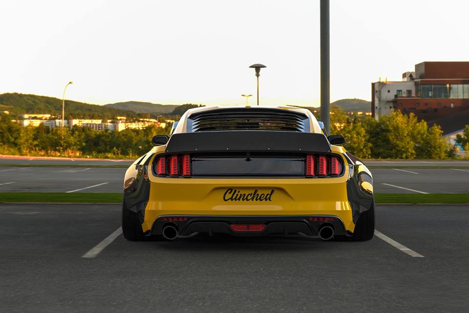 Clinched Carbon Widebody Ford Mustang GT Tuning 2017 2 Mehr geht nicht   Clinched Widebody Ford Mustang GT