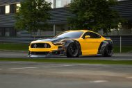 Clinched Carbon Widebody Ford Mustang GT Tuning 2017 3 190x127 Mehr geht nicht   Clinched Widebody Ford Mustang GT