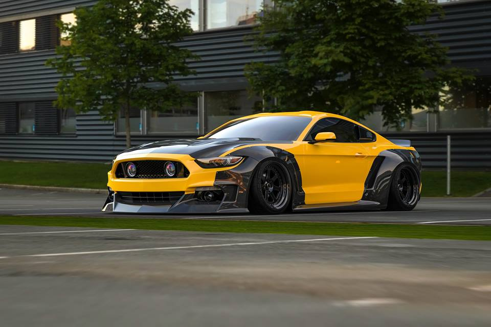 More Does Not Work Clinched Widebody Ford Mustang Gt