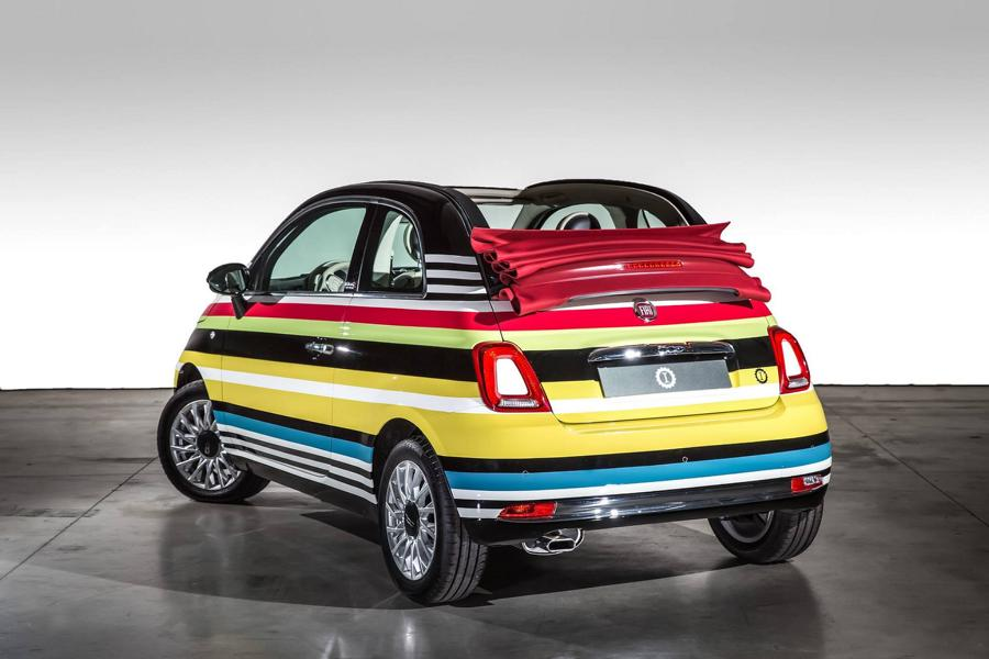 fiat 500c missoni custom tuning garage italia customs 6 magazin. Black Bedroom Furniture Sets. Home Design Ideas