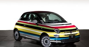 Fiat 500C Missoni Custom Tuning Garage Italia Customs 7 310x165 Bunt   Fiat 500C Missoni Custom von Garage Italia Customs