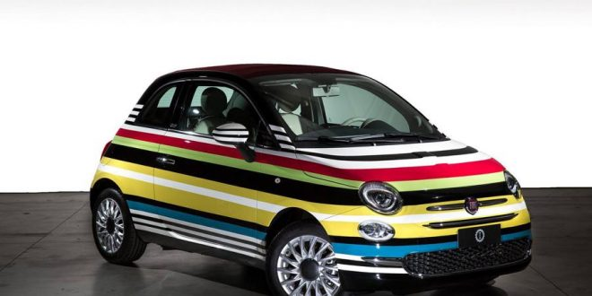 Bunt – Fiat 500C Missoni Custom von Garage Italia Customs