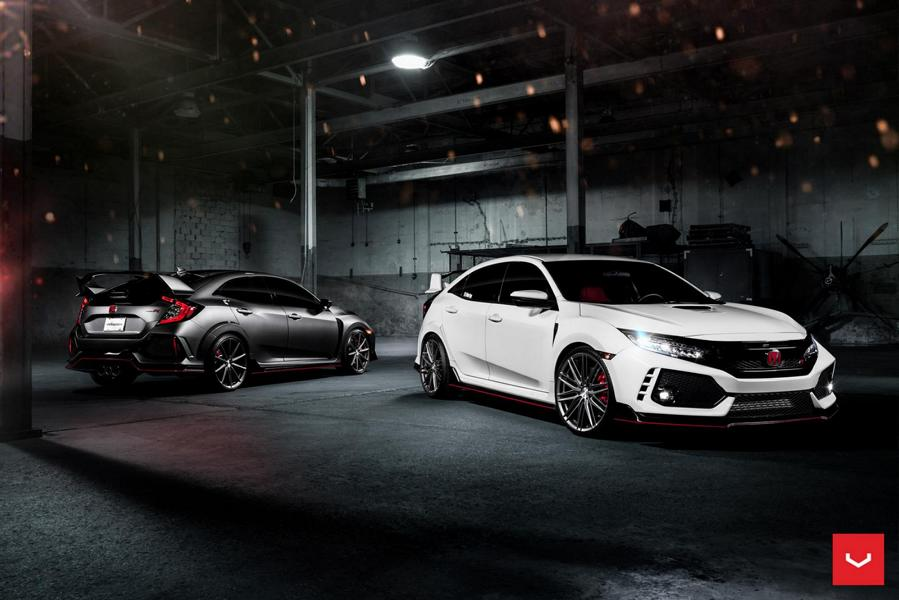 Honda Civic Type R Vossen VFS4 Felgen Tuning 1 Twins? 2 x Honda Civic Type R auf Vossen Wheels Felgen