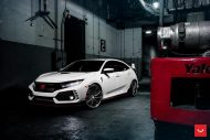 Honda Civic Type R Vossen VFS4 Felgen Tuning 7 190x127 Twins? 2 x Honda Civic Type R auf Vossen Wheels Felgen