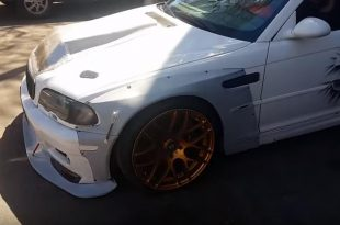 Liberty Walk BMW E46 M3 Viper 8.3l V10 Motor 310x205 Video: Irre   Liberty Walk BMW E46 M3 + Viper 8.3l V10 Motor