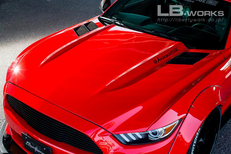 Liberty Walk Ford Mustang Widebody 2017 Tuning 3 Fertig   Das ist der Liberty Walk Ford Mustang Widebody