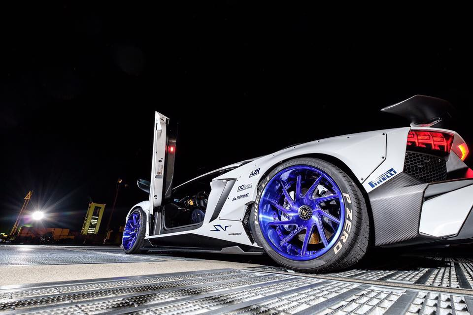 Liberty Walk Lamborghini Aventador LP750 SV Widebody Tuning 4 WTF   Liberty Walk Widebody Lamborghini Aventador LP750 SV