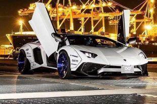 Liberty Walk Lamborghini Aventador LP750 SV Widebody Tuning 8 1 310x205 WTF   Liberty Walk Widebody Lamborghini Aventador LP750 SV