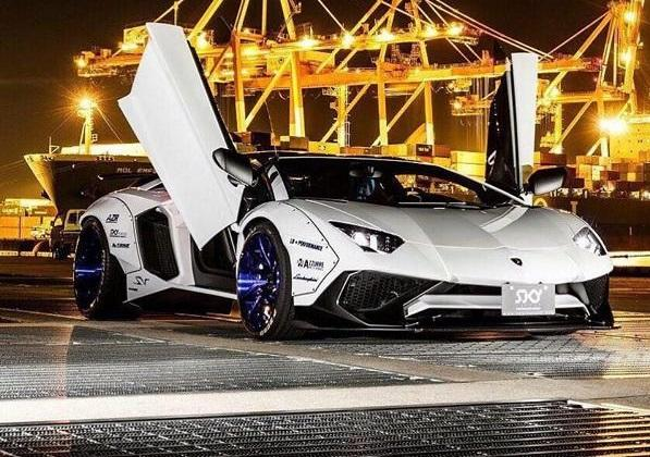 Liberty Walk Lamborghini Aventador LP750 SV Widebody Tuning 8 1 WTF   Liberty Walk Widebody Lamborghini Aventador LP750 SV