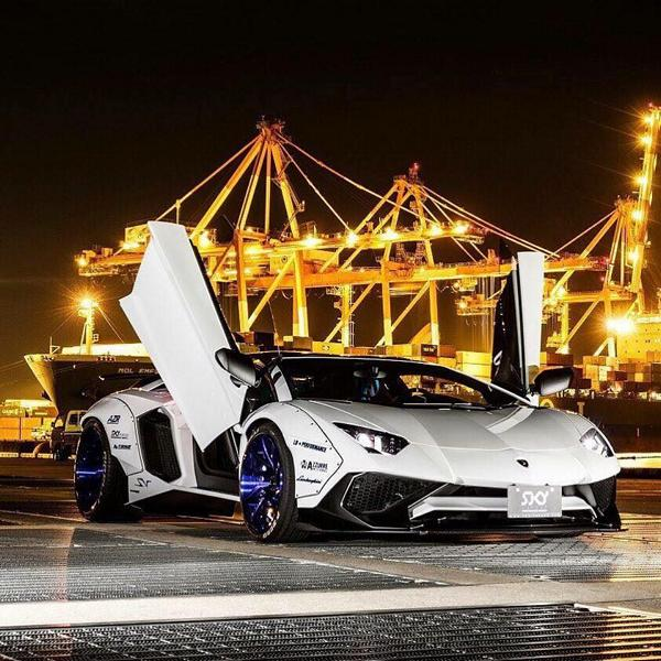 Liberty Walk Lamborghini Aventador LP750 SV Widebody Tuning 8 WTF   Liberty Walk Widebody Lamborghini Aventador LP750 SV