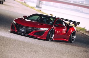 Liberty Walk Widebody Honda NSX Tuning 2017 6 310x205 Kein Widebody   Liberty Walk Honda NSX dafür mit Airride