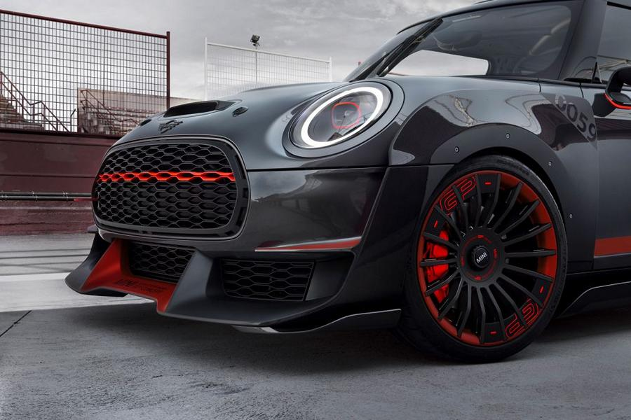 MINI JCW GP F56 Concept Car Tuning 2017 IAA 16 John Cooper Works Limited   Tuning für den neuen Mini