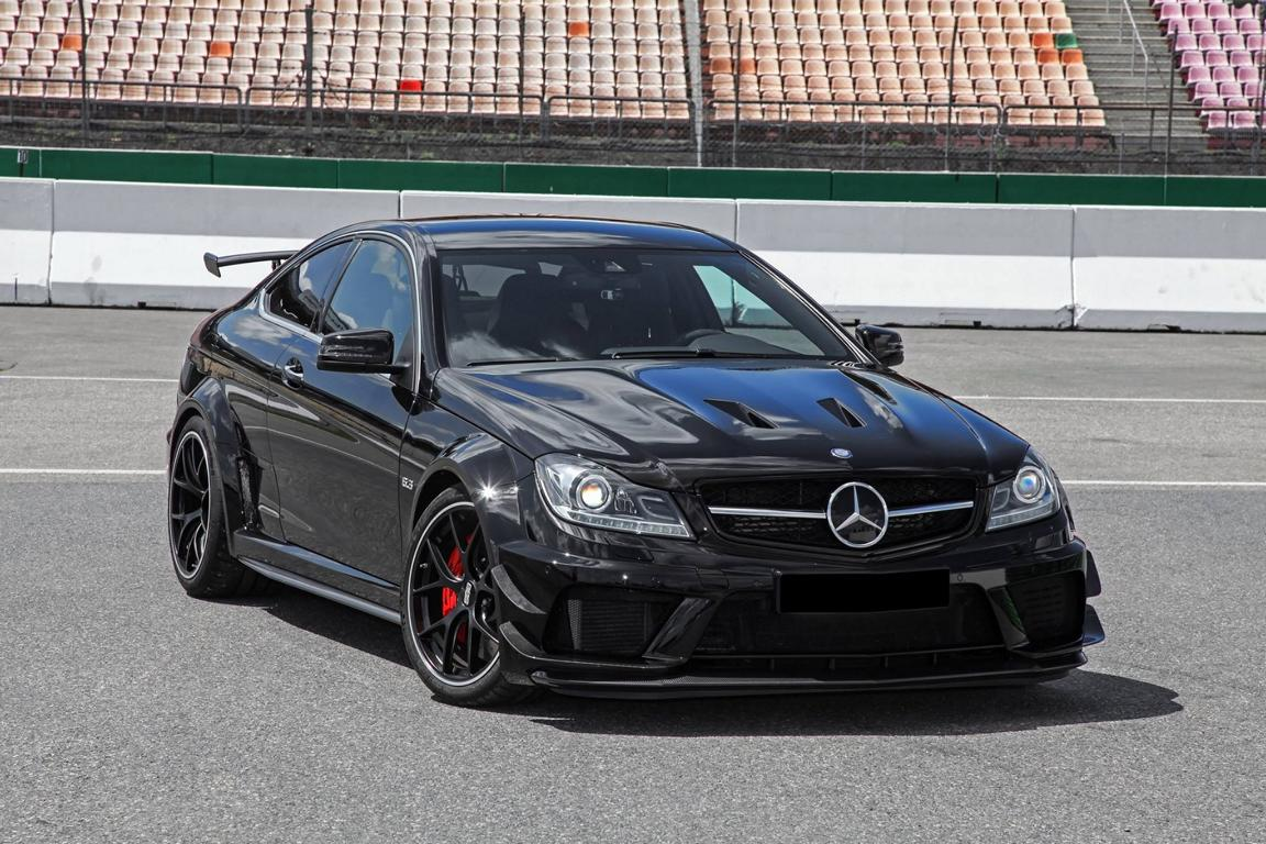 inden design mercedes benz c63 amg coupe edition 507 magazin. Black Bedroom Furniture Sets. Home Design Ideas