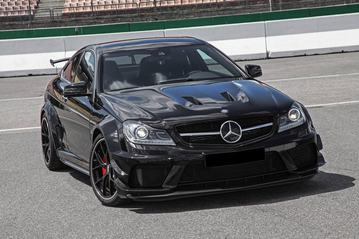 Mercedes-Benz C63 AMG Coupe Edition 507 W204 (6)
