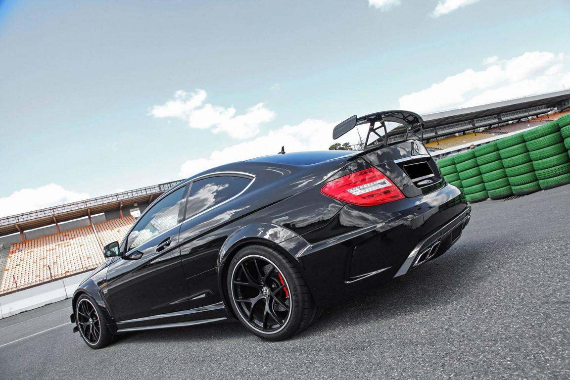 Mercedes-Benz C63 AMG Coupe Edition 507 W204 (9)