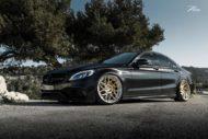 Mercedes C63 AMGs Folierung Z Performance Wheels 1 190x127 Eleganter Stuttgarter   Mercedes C63 AMGs auf 20 Zöllern