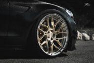 Mercedes C63 AMGs Folierung Z Performance Wheels 2 190x127 Eleganter Stuttgarter   Mercedes C63 AMGs auf 20 Zöllern